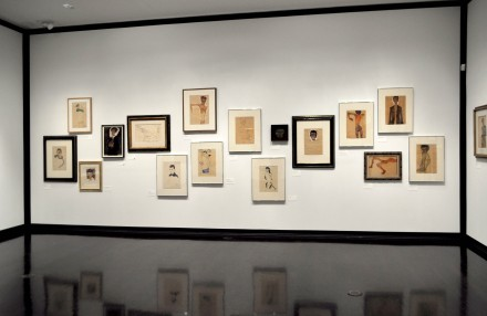 Egon Schiele Portraits (Installation View)
