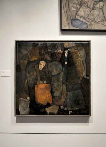 Egon Schiele, Procession (1911)