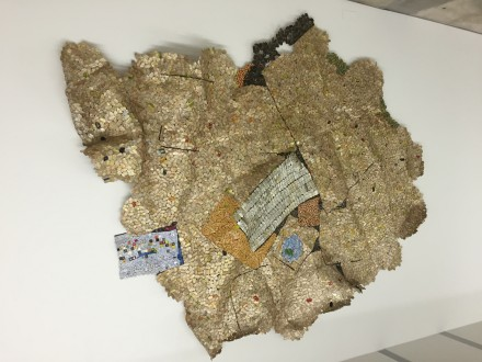 El Anatsui, Yet Another Place (2014)