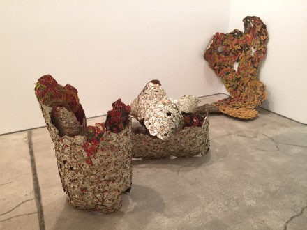 El Anatsui, Trains of Thoughts I (2014)
