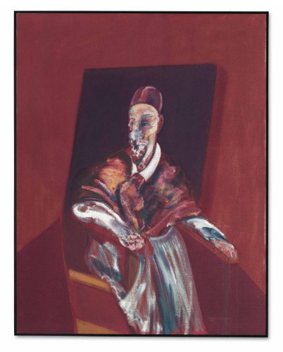 Francis Bacon, Seated Figure (1960), via Christie's