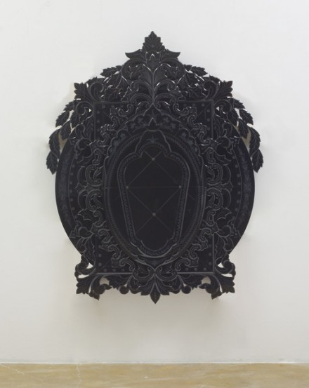 Fred Wilson, I Saw Othello's Visage in his Mind (2013), via Pace