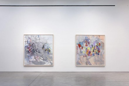 George Condo (Installation View), via Skarstedt