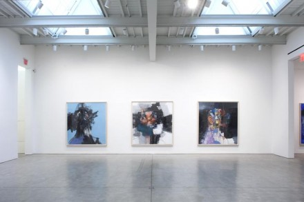 George Condo, Double Heads / Black Paintings / Abstractions (Installation View), via Skarstedt