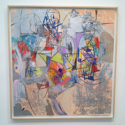 George Condo, Shattered Heart (2014), via Art Observed