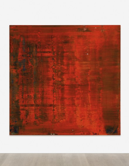 Gerhard Richter, Abstraktes Bild (1991), via Sotheby's
