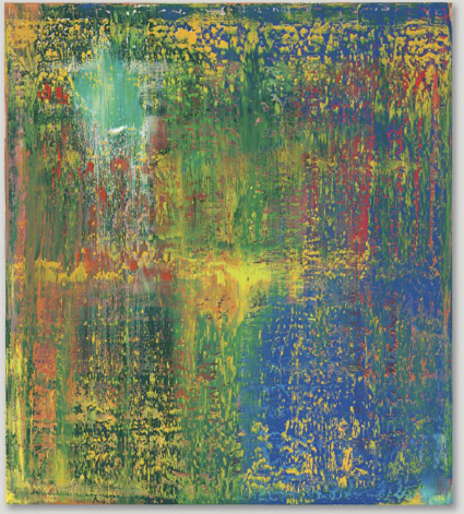 Gerhard Richter, Abstraktes Bild (648-3) (1987), via Christie's