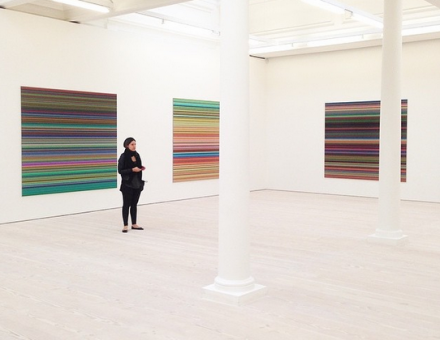 Gerhard Richter (Installation View), via Art Observed