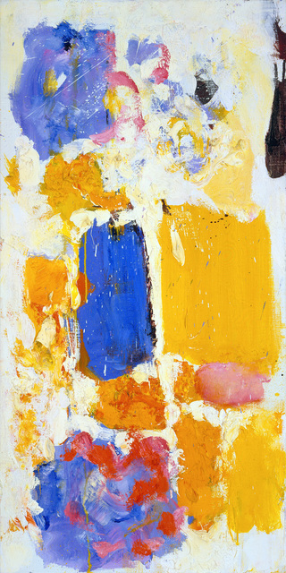 Joan Mitchell, Untitled (1973), via Cheim and Read