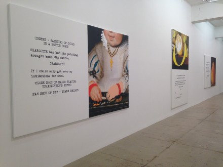 John Baldessari, Movie Scripts / Art (Installation View)