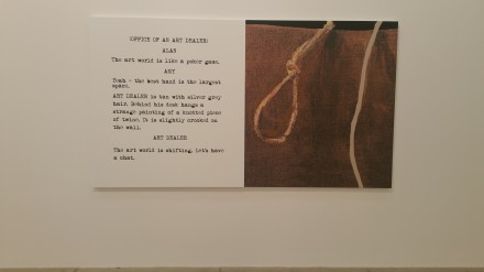 John Baldessari, Movie Scripts/Art Like a Poker Game: (2014)