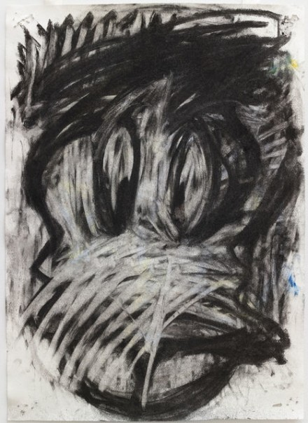Joyce Pensato, Who Are You (2014), via Petzel Gallery