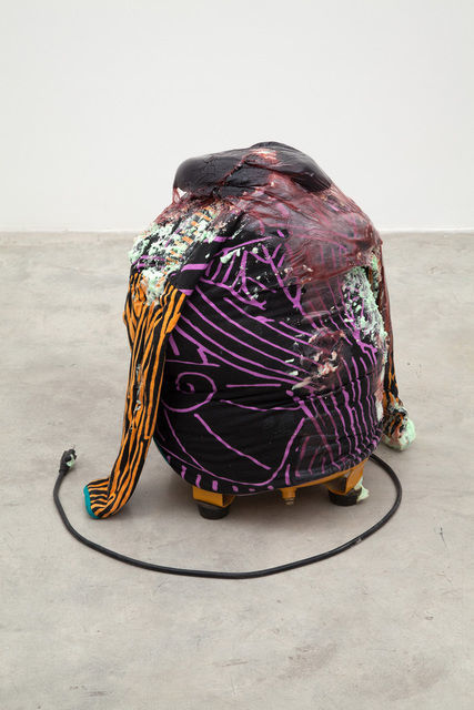 Kevin Beasley, Untitled (chest Compression) (2014), via Casey Kaplan