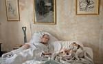 Lucian Freud at Home, via Telegraph