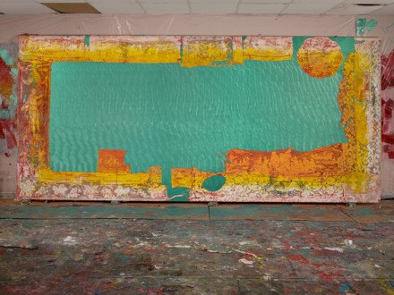 Mark Flood, Title tbc (Long Lace), (2014), via Rubell Collection