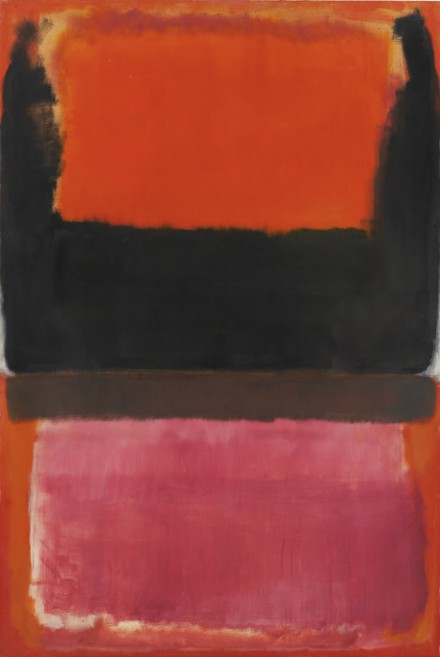 Mark Rothko, No 21 (Red, Brown, Black and Orange) (1951), via Sotheby's