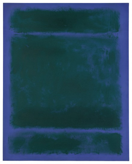 Mark Rothko, Untitled (1970), via Sotheby's