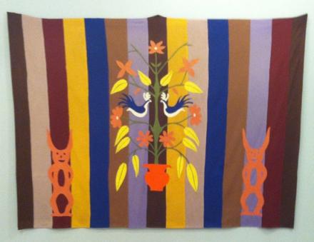 Mike Kelley at Skarstedt, via Art Observed