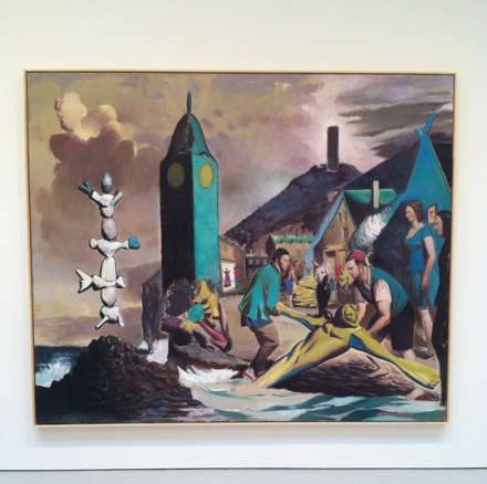 Neo Rauch, Marina  (2014), via Art Observed