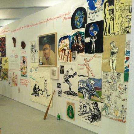 Raymond Pettibon at David Zwirner, via Art Observed