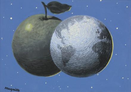 René Magritte, L'Autre Son de Cloche (1952), via Sotheby's