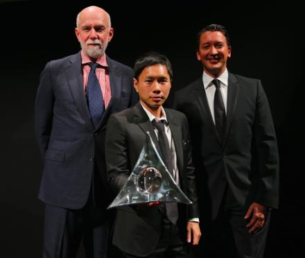 Richard Armstrong, Paul Chan, and Gerrit Rützel, via Fitz and Co