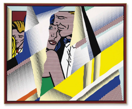 Roy Lichtenstein, Reflections on the Prom (1990), via Christie's