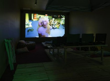 Ryan Trecartin and Lizzie Fitch, Range Week (2014), via Regen Projects
