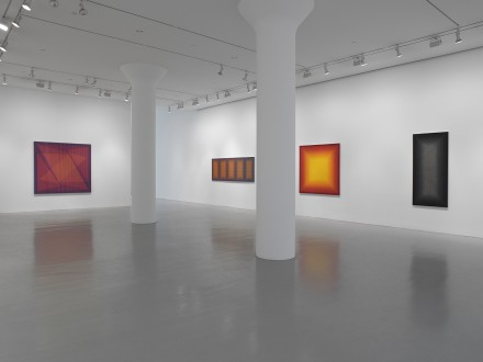 Julian Stanczak, From Life (Installation View)