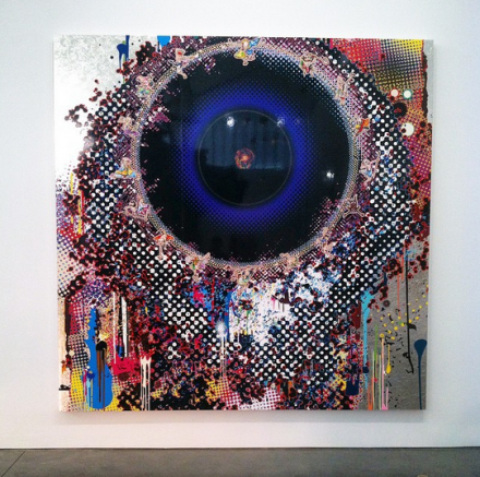 Takashi Murakami, Fluctuations in Space-Time (2014), via Art Observed