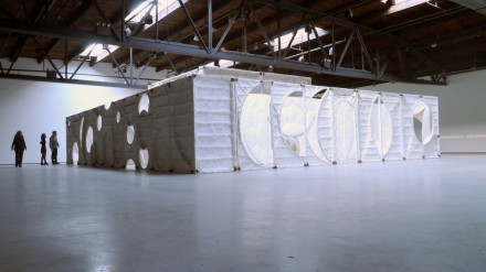 Thomas Houseago (Installation View), via Ellen Burke for Art Observed 9