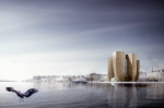 A proposed design for the Guggenheim Helsinki, via NYT