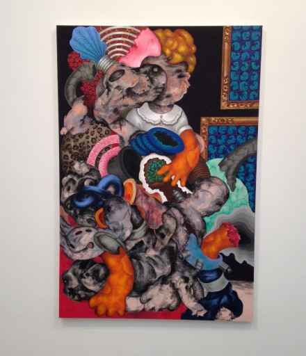 Ahmed Alsoudani, Untitled (2014)