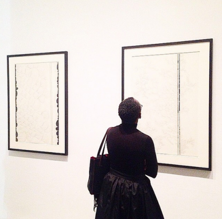 Chris Ofili, Night and Day (Installation View), via Art Observed