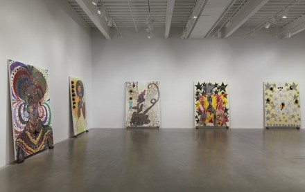 Chris Ofili, Night and Day (Installation View), Photo by Maris Hutchinson/EPW All artworks © Chris Ofili. Courtesy David Zwirner, New York/London