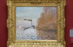Claude Monet, Argenteuil Basin with a Single Sailboat, via Art Info