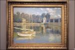 Claude Monet, Le Pont d'Argenteuil, via Artnet