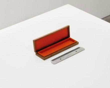 Marcel Duchamp, Comb (1916), via Andrea Rosen
