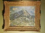 Paul Cézanne, La Montagne Sainte-Victoire vue du bosquet du Château Noir, via Detroit Free Press