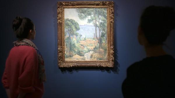 Paul Cezanne, Vue sur L'Estaque et Le Château d'If, via Financial Times