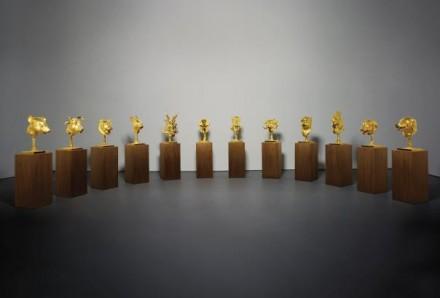 Ai Weiwei, Circle of Animals Zodiac Heads (2010), via Phillips