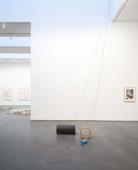 Al Taylor Pet Stains, Puddles, and Full Gospel Neckless (Installation View), via David Zwirner