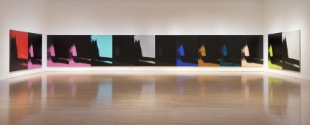 Andy Warhol, Shadows (Installation View), Photo) by Brian Forrest. © 2014 The Andy Warhol Foundation for the Visual Arts, Inc./Artists Rights Society (ARS), NewYork.