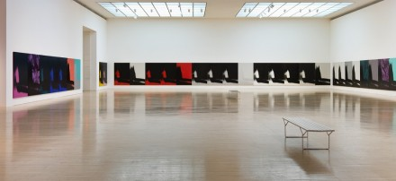 Andy Warhol, Shadows (Installation View), Photo by Brian Forrest. © 2014 The Andy Warhol Foundation for the Visual Arts, Inc./Artists Rights Society (ARS), New York.