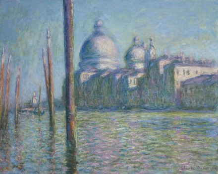 Claude Monet, Le Grand Canal (1908), via Sotheby's