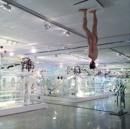 David Altmejd, Flux (Installation View), via Art Observed