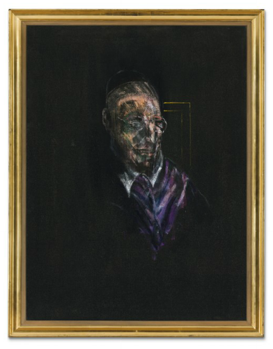 Francis Bacon, Study for a Head (1955), via Christie's
