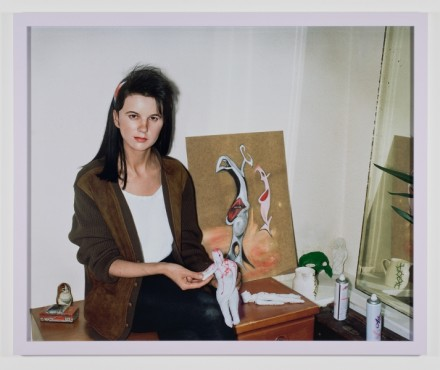 Gillian Wearing, Me As an Artist in 1984 (2014)