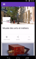 Google's new museum app, via TechCrunch