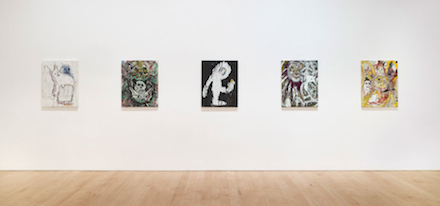 Harmony Korine, Raiders (Installation View)